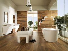 tendencias en baños parquet cuarto de baño porcelanosa