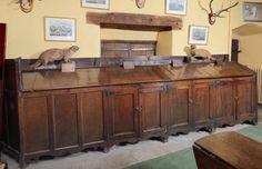 oak bread cupboard, Sizergh Castle © National Trust / Robert Thrift