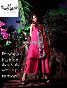 Najia Malik Party Wear Collection 2013 For Summer