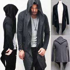 Hooded jacket/cardigan
