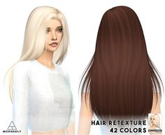 My Sims 4 Blog: Hair by Missparaply