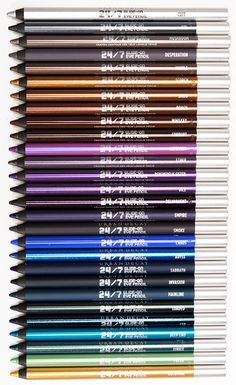 Urban Decay 24/7 Eyeliners - love these! I have  maybe 10 different shades