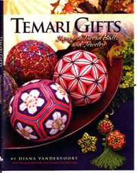 Temari Gifts: Japanese Thread Balls and Jewelry: Diana Vandervoort, Valerie Oesterling, Leslie Hodges, Photos: Eric Gordon: A. Temari Patterns, Wood Book, Thread Jewellery, Jewelry, Embroidery Supplies, Embroidery Books, Crochet Cross, Make Design, Embroidery Techniques