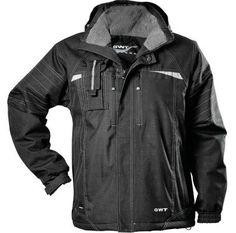 Talvitakki, GWT - Kulutuksenkestävä, vanuvuorinen Canvas-takki, jonka kanssa tarkenee kylmälläkin ilmalla. Työkäyttöön suunniteltu takki on varustettu irrotettavalla hupulla ja kännykkätaskulla, mutta siitä löytyy myös muita näppäriä toiminnallisia ominaisuuksia. - Winter coat for work - Virtasenkauppa - Verkkokauppa.