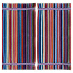 Candy Stripe Velour Beach Towel (Set of 2) - Overstock™ Shopping - The Best Prices on Beach Towels