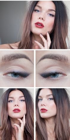 Love this look by Linda Hallberg #makeup