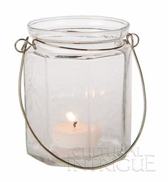 Clear Hanging Jar (flat-edge design)