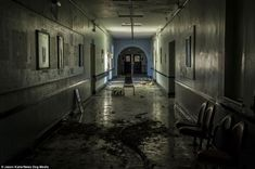 Image result for hospital hallway old