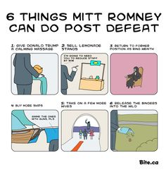 Romney's post-defeat activities
