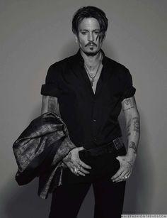Male Fashion Trends: En exclusiva: Johnny Depp para Numéro Homme por Jean-Baptiste Mondino
