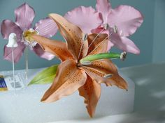 Gumpaste Tiger Lily