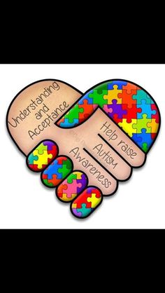 embrace / autism awareness; love this as a poster idea disability awareness, children with disabilities