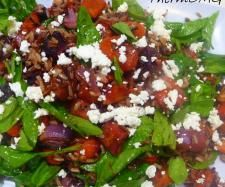 Recipe Wild Rice and Roast Vegetable Salad by EbonyD, learn to make this recipe easily in your kitchen machine and discover other Thermomix recipes in Main dishes - vegetarian. Roasted Vegetable Salad, Roasted Vegetables, Healthy Soup Recipes, Vegetarian Recipes, Salad Recipes, Healthy Food, How To Cook Mince, Winter Salad, Rice Salad
