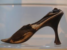 Mary, Queen of Scots shoe, left behind at Jedburgh (1566)