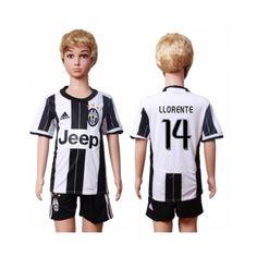Juventus Trøje Børn 16-17 #Llorente 14 Hjemmebanetrøje Kort ærmer.199,62KR.shirtshopservice@gmail.com