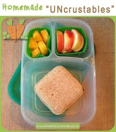 Uncrustables are fun to eat, but they're a lot healthier if you make them yourself. Here's how.