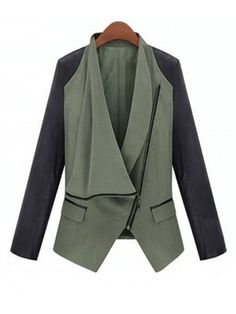 Styliah Long Sleeve Attractive Lapel Jackets
