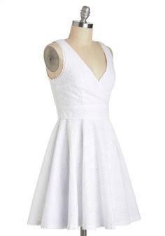 Eyelet Spy Dress   Mod Retro Vintage Dresses   ModCloth.com