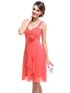 HE03266RD06, Pink, 4US,Ever Pretty Evening Dresses For Wedding 03266 $35.99