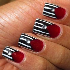 Instagram photo by varnishedvalkyrie #nail #nails #nailart