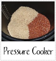 Healthy Family Cookin': Pressure Cooker Recipes