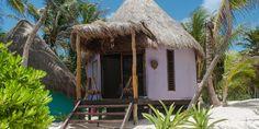 Beach Front Cabaña - King | La Zebra Tulum | Mexico