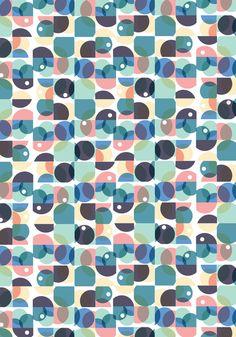 Orbit Cells Art Print by Sam Osborne   Society6