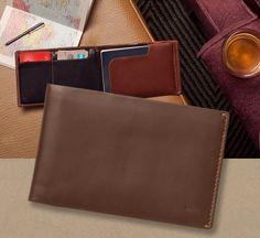 Niezbędnik każdego podróżnika - portfel Bellroy Travel. Taki cienki, a taki pojemny! Do kupienia w www.le-premier.pl #lepremier