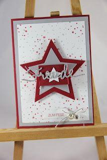 StampinFantasy: Mon Chéri Mon Cheri, Advent Calendar, Stampin Up, Holiday Decor, Winter, Frame, Home Decor, Stamping, Christmas
