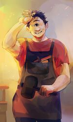 Tyson Rick riordan official art Viria>>> Glad they changed the official to Viria, it's so much better then whoever did the old official art. Percy Jackson Fandom, Arte Percy Jackson, Dibujos Percy Jackson, Percy Jackson Annabeth Chase, Percy Jackson Characters, Percy Jackson Books, Percy Jackson Official Art, Jackson Movie, Percabeth