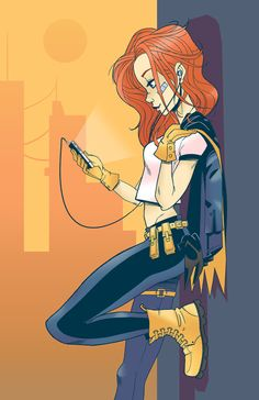 fighting crimes in style- Batgirl