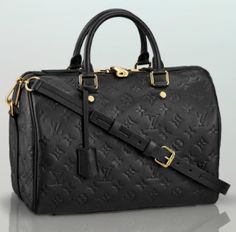 Speedy Bandouliere 30 Black $3050 - LOUIS VUITTON