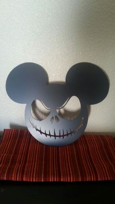 Nightmare before Christmas Mickey Mouse steel sign