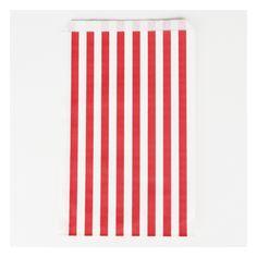 Chevron rayures rouge et blanc Personnalisé Fête D/'Anniversaire bunting