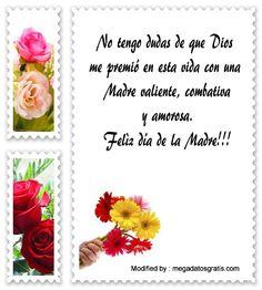 descargar frases para el dia de la Madre,descargar imàgenes para el dia de la Madre,descargar mensajes bonitos para el dia de la Madre: http://www.megadatosgratis.com/felicita-a-tu-madre-por-su-dia/