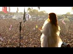 Dog days are Over.  Live                                                  Florence and The Machine
