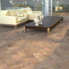 The Cotto Series is a color body porcelain that is produced to emulate old-world, cotto pavers. Get this tile at arizonatile.com