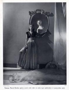 Marcel Rochas design, photo by Horst, 1937