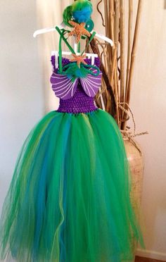 Hey, I found this really awesome Etsy listing at https://www.etsy.com/listing/176496393/little-mermaid-tutu-dress