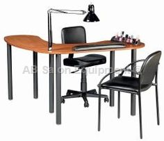 Kayline S100V Silhouette Vented Modular Nail Table $267