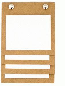 Silhouette Design Store - View Design #81096: vertical photo book 3x4