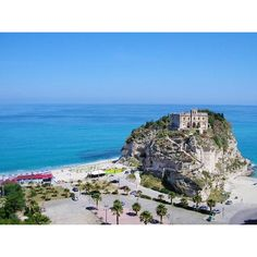 """See 751 photos from 2333 visitors about calabria, beach, and pearls. """"Tropea """"the pearl of the Tyrrhenian Sea"""".Visit the little island """"S. Little Island, Italy Travel, Italy Trip, Trip Advisor, To Go, United States, Beach, Water, Places"""