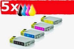 inkPrinted Distribución y Venta de Cartuchos de Tinta y Tóner para impresoras INFORMA: Tinta compatible epson t0611 t0614 kit ahorro tint...