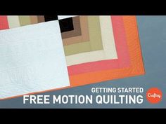 How To Quilt a Secondary Curve In Your Border Design with Kimmy Brunner from Craftsy.com - YouTube