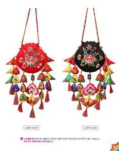 Traditional Korea Hanbok Clothing Accessory  Traditional Korean Embroidery