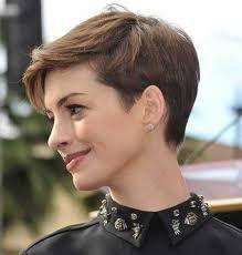 Resultado de imagem para Short Side Swept Pixie Hair for Women