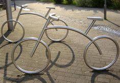 Bicicletário inovador