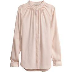 H&M Chiffon blouse ($31) ❤ liked on Polyvore