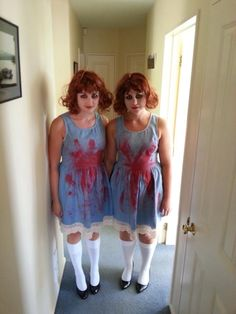 come play with us  Version of the Twins from the shining