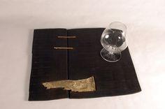 Poggia posate da tavola in metallo / Metal cutlery holder for table ...